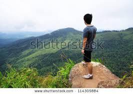 Hiking Clipart Cliff Edge 8