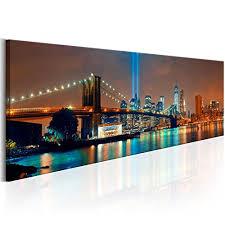 möbel wohnen wandbilder new york skyline stadt
