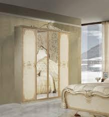 schlafzimmer set tolouse in beige gold 7 teilig mit schrank
