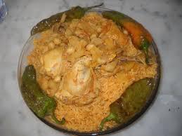 recettes de cuisine tunisienne recette riz au poulet