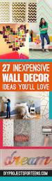 Cute Living Room Ideas For Cheap by Best 25 Cheap Wall Decor Ideas On Pinterest Cheap Bedroom Decor