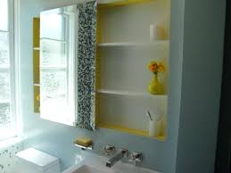 Mirrored Medicine Cabinet With Sidelights Bathrooms Cabinets