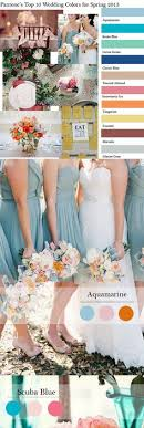 Color Ideas for Weddings Parties and More