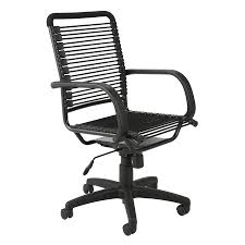 Bungee Office Chair With Arms by Shop Eurostyle Bungie Graphite Black Contemporary Task Chair At