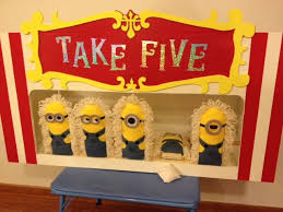 Updated Alley Cat Bean Bag Carnival Game Made The Hinged Paddles To Look Like Minionsthe Kids And Grown Ups Alike Love This At F