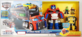 100 Rescue Bots Fire Truck Buy Deluxe Set Transformers Optimus Prime With Trailer