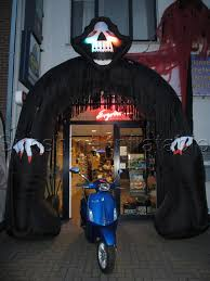 Halloween Inflatable Archway Tunnel by Halloween Decoration 5 Meters Tall Inflatable Witch Figure Toy