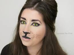 cat contacts sparkle me pink cat makeup tutorial hair makeup nails