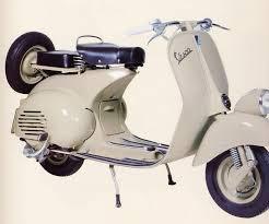 Vintage Vespas At Motorcycle Live