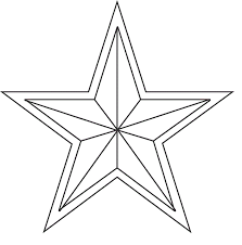 Print Christmas Stars Coloring Pages