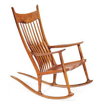 sam maloof rocking chair class beautiful crafted sam maloof rocking chair bespoke