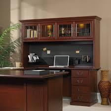 Sauder Executive Desk Staples by Sauder Heritage Hill Large Executive Desk Hutch Muallimce