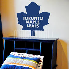 wall decals toronto maple leafs hockey sport wall stickers canada