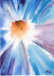 How To Recognize A Georgia OKeeffe Painting Bright PaintingsAbstract Flower WatercolorWatercolor