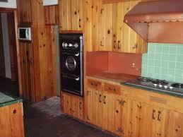 Vintage Old Original 1955 Kitchen Oven Range Hood Wood Paneling Cabinets Phoenix Arizona
