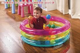 piscine a balle gonflable gonflable jeu de pvc intex 48674 ronde 3 anneau piscine pour