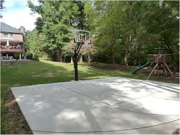 Backyards : Splendid A Backyard Basketball Court 123 Installation ... Outdoor Courts For Sport Backyard Basketball Court Gym Floors 6 Reasons To Install A Synlawn Design Enchanting Flooring Backyards Winsome Surfaces And Paint 50 Quecasita Download Cost Garden Splendid A 123 Installation Large Patio Turned System Photo Album Fascating Paver Yard Decor Ideas Building The At The American Center Youtube With Images On And Commercial Facilities
