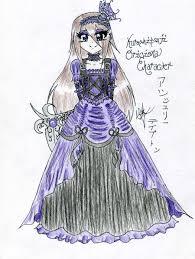 Victorian Dress Design By AyameKumori