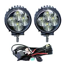 100 Work Lights For Trucks 12 Watt Round Light Package Custom
