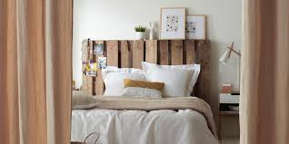 chambre avec tete de lit 34 ides de lit en palette bois a faire pour la chambre avec tete de