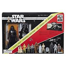 Star Wars Black Series Coffret Edition 40° Anniversaire