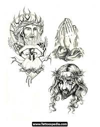 Cross N Praying Jesus Tattoo Design In 2017 Real Photo Pictures