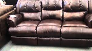 Lane Wall Saver Reclining Sofa by Lane Durablend Leather Recliner Sofa And Rocker Loveseat Youtube