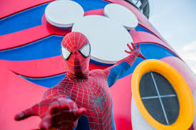 The Spectacular Spider Man Final Curtain Youtube by Disney Cruises Get More Super With Marvel Day At Sea