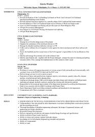 Lead Civil Engineer Resume Samples | Velvet Jobs Civil Engineer Resume Writing Guide 12 Templates Lead Samples Velvet Jobs Template Professional Cv Format Doc Google Docs Free By Julian Ma On Dribbble Cv Examples The Database Structural Cover Letters Military Eeering Cover Letter Sample New 10 Examples Civil Eeering Andy Khan For Freshers Download For Fresh Graduate 2018