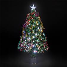 Pre Lit Led Christmas Trees Walmart by Ideas Fiber Optic Christmas Tree Christmas Tree Prelit