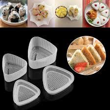 presse cuisine 4 pcs cuisine bento décoration sushi onigiri moule alimentaire