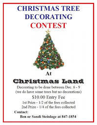 Christmas Cubicle Decorating Contest Rules by Flyers For Holiday Cubicle Decorating Contest Flyer Www
