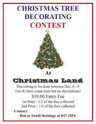 Winning Christmas Door Decorating Contest Ideas by Christmas Tree Decorating Contest Rainforest Islands Ferry