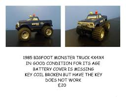 1980's Bigfoot Monster Truck 4x4x4 | In Hadleigh, Suffolk | Gumtree Tmb Tv Mt Unlimited Moment Retro Bigfoot Monster Truck Qualifying Lego Technic Bigfoot 1 Rc Moc With Itructions Meet The Man Behind First Wsj Poster Ii Car Posters Monster Truck Defects From Ford To Chevrolet After 35 Years Atlanta Motorama Reunite 12 Generations Of Mons Tra360841 110 Scale Officially Licensed Replacementica 1047 Kiss Fm Working Lot Sled Part Original Box Classic Rtr Blue Hobbyquarters Traxxas 2wd Tq Eurorccom