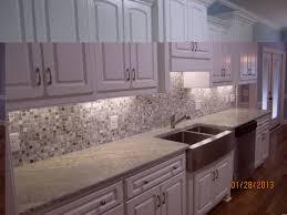 black white cabinets how to do mosaic tile backsplash kitchens