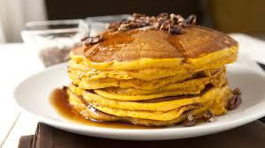 Vegan Bisquick Pumpkin Pancakes by Pecan And Pumpkin Pie Pancakes Recipe Tablespoon Com