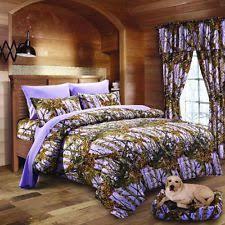 14 pc twin pink camo bedding comforter sheet 2 curtain sets