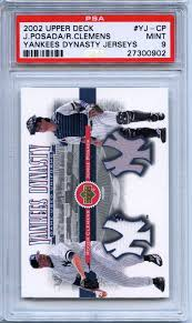 The Upper Deck Company Llc Linkedin by Lot Detail 2002 Upper Deck Yankees Dynasty Jerseys Yj Cp Jorge