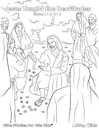 Best Photos Of Beatitudes Coloring Pages Jesus
