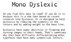 Re The Dyslexia Thread