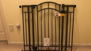 Summer Infant Extra Tall Walk-Thru Baby Gate Blogger Review - YouTube Amazoncom Summer Infant Deluxe Stairway Simple To Secure Wood Gate For Top Of Stairs With Banister The 6 Baby Gates Regalo Extra Tall 2754 With Swing Door Ideas Mounting Hdware All The Best Multiuse Walkthru Of Metal Sure Customfit 9198 Toddler Multi Use Walk Thru White Youtube 33 In And Stair Dual Deco