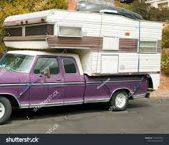 100 Truck Top Camper Old Weathered Faded Purple Brown Stock Photo Edit Now