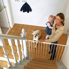 Pet Stairs For Tall Beds by Babydan Extra Tall Streamline Stair Pet Gate White 63 5