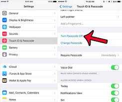 How to Undo Turn f Remove Passcode on iPhone 7 7 Plus SE 6s Plus