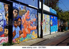 Balmy Alley Murals Mission District by Mission District Murals Stock Photo Royalty Free Image 133396855