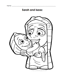 Abraham And Sarah Coloring Pages 11 FREE