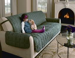 Sure Fit Stretch T Cushion Sofa Slipcover by Furniture Refresh And Decorate In A Snap With Slipcover For