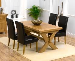 awesome oak dining table and chairs with oak dining table and