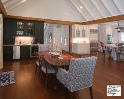 His Wet Bar Traditional Dining Room