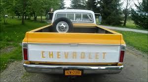 100 72 Chevy Truck Chrome Rear Bumper Truck YouTube